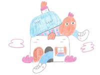 Illustration for Medium - The Struggle To Get Outside