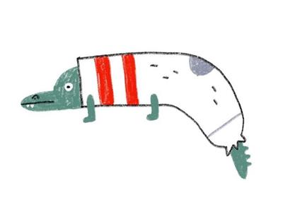 Sock-a-dile concept character ideas kidlit croc socks