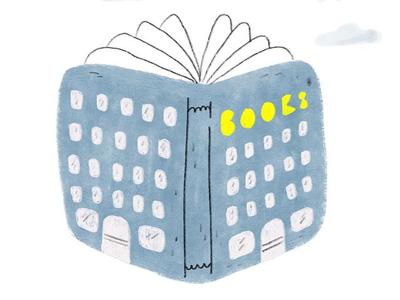 Books kidlitart kidlit kidsbooks illustration architecture building book