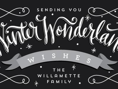 Winter Wonderland Wishes