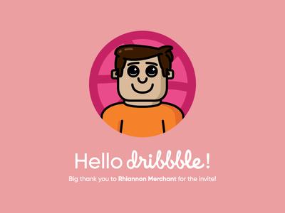 Hiya Dribbble!