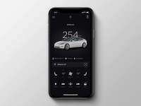 Tesla Mobile App Redesign: Summon