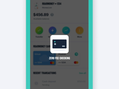 MoneyLion Loading Animation finance app after effects loading animation animation illustration