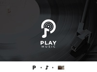 Play Music - App Logo [Logo for Sale]