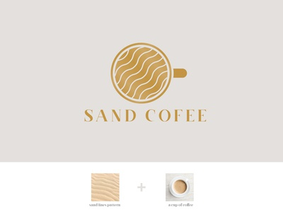 Sand Coffee Logo [Logo for Sale]