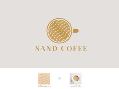 Sand Coffee Logo [Logo for Sale]