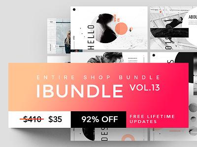 Are you like Entire Shop Bundle? deal sale entire shop bundle powerpoint template keynote powerpoint