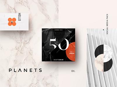 Introducing the impressive New Template banner marketing pinterest branding post minimal modern instagram template free social media