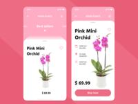 Plants shop mobile app
