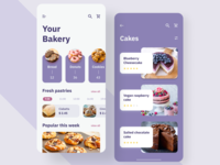 Bakery Mobile app