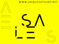 Ad for the art shop and gallery