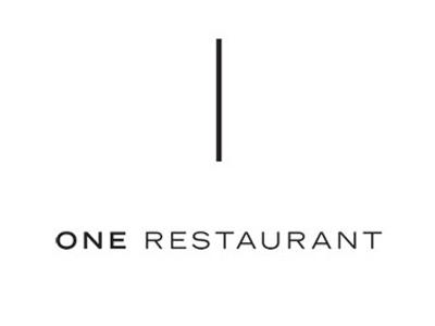 One Restaurant Logo Design