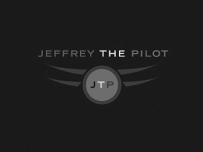 Aviation  - Jeffrey The Pilot Logo Design