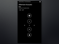 Moto display Spotify