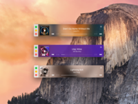 Rdio Mini Player for Yosemite