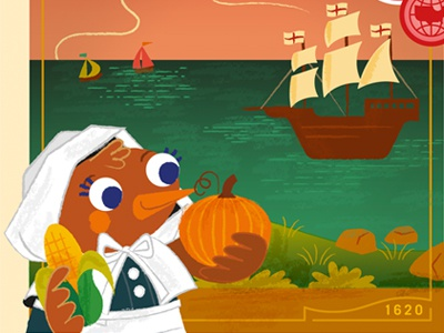 Where is Robin? November Teaser thanksgiving where is robin usa america robyn mitchell plymouth mayflower ii pilgrim november massachusetts