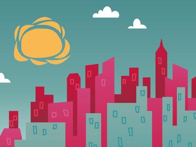 City Scene I