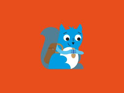 Squirrel wip squirrel artwork art digital art digital vector art vector character design illustration art illustration