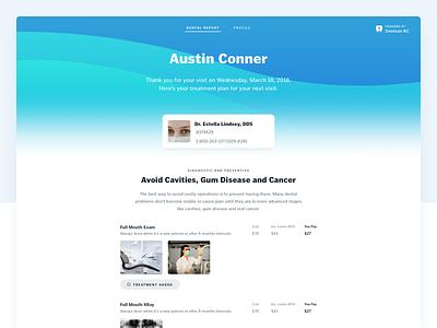 DentiumRC white hero ui marketing 3d website branding creative design modern color illustration landing page