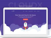 Clean Web UI Concept