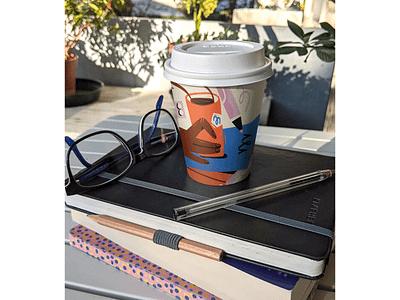 But First Coffee coffee bean books brand design digital art packaging design vector handlettering coffee coffe cup packaging mockup packaging visual identity illustration