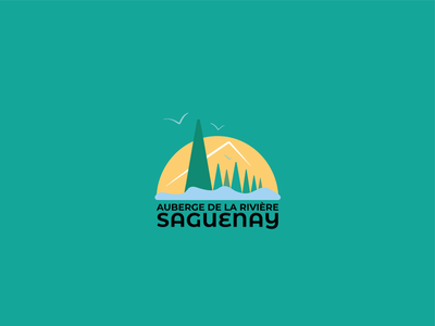REDESIGN VISUAL IDENTITY - AUBERGE DE LA RIVIERE SAGUENAY illustrator graphicdesign art direction branding logotype logo graphic charter visual identity