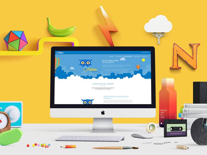 HUBOO - UI & UX DESIGN OF DIGITAL BUSINESS logo adobe xd illustrator art direction visual identity ui uiux userinterface user experience branding flat design visual design webdesign ux design ui design