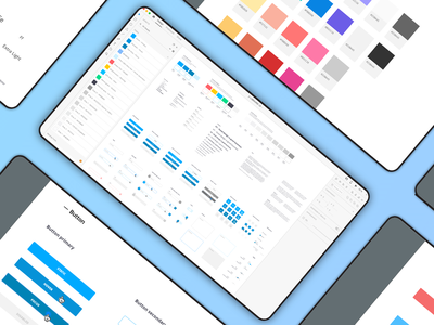 DESIGN SYSTEM PROJECT ADOBE XD sketchapp user interface component ui visual design design system adobe xd library ui webdesign ui ux design ui design