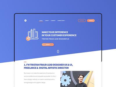 UI & UX PROTOTYPE - PORTFOLIO user experience webdesign art direction visual design adobe xd animation prototyping ux design ux ui design ui