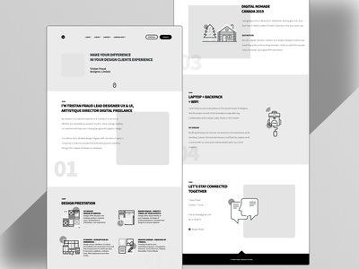 Work in progress new website adobe XD web ux adobe xd designer website ux design wireframes wireframe
