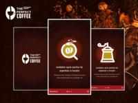 Coffee Intro screens