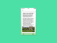 Daily UI #016 - PopUp Article