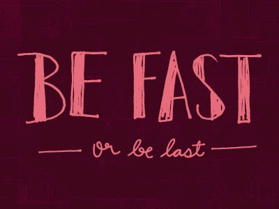 Image result for be fast