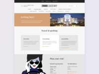 Shopping Mall landing page