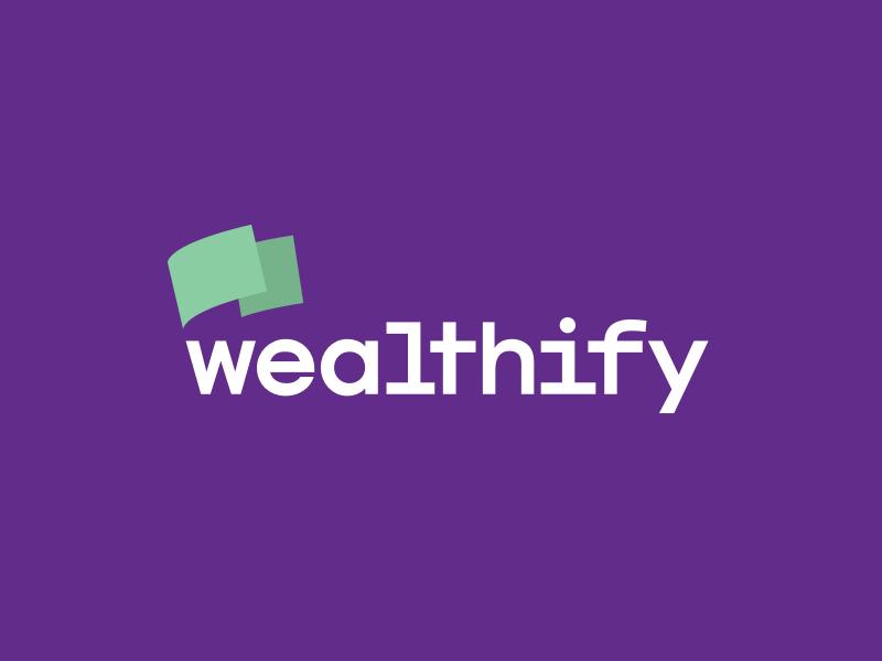 Wealthify logo concept 1