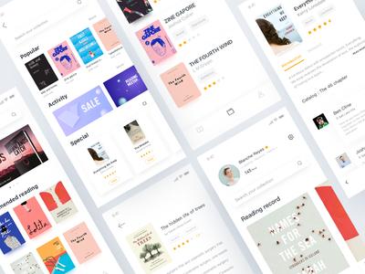 Booki app design