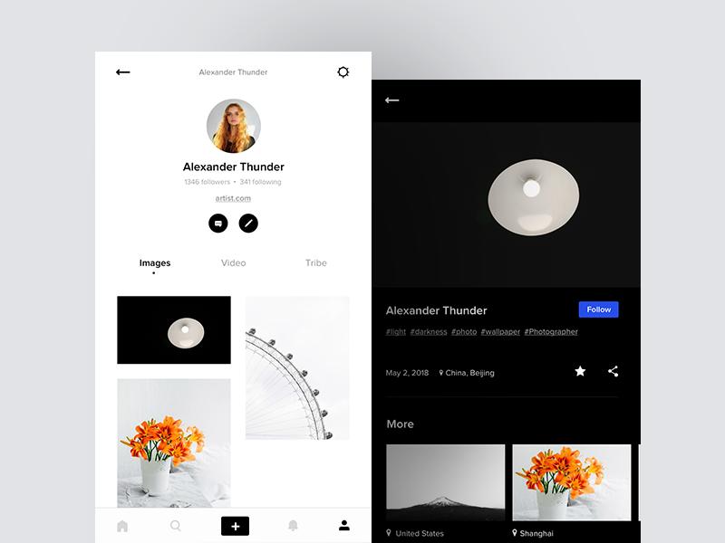 profile visitors app