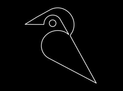 Two birds logo concept