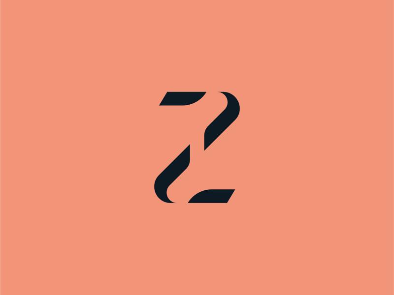 Letter Z monogram mark icon logotype brand modern minimal clean elegant barber hairdresser logo