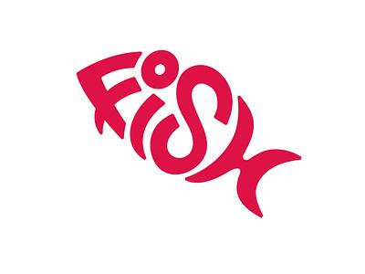 Day 01 - Fish monogram symbol letter illustration design branding logotype brand market inktober inktober2020 mark logo typogaphy
