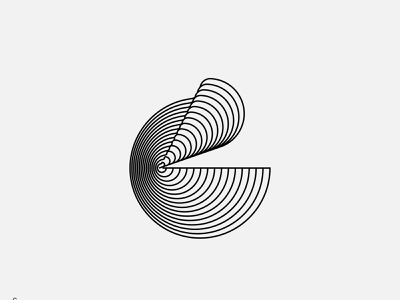 Type Experiments - C mark lettermarks brand line symbol monogram lettermark blend typogaphy type experiment logotype c letters logo letter