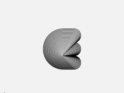 Type Experiments - E lettering blend logotype line typography type branding logo symbol brand monogram lettermark letters letter