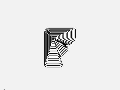 Type Experiments - F blend typography type letter logo letters lettermark letter mark design monogram symbol branding brand logotype logo