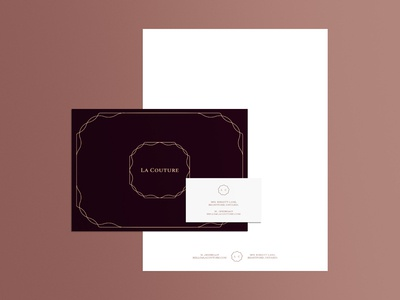 La Couture Stationery