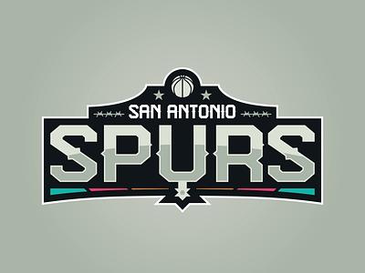 San Antonio Spurs texas spurs san antonio logo concept nba