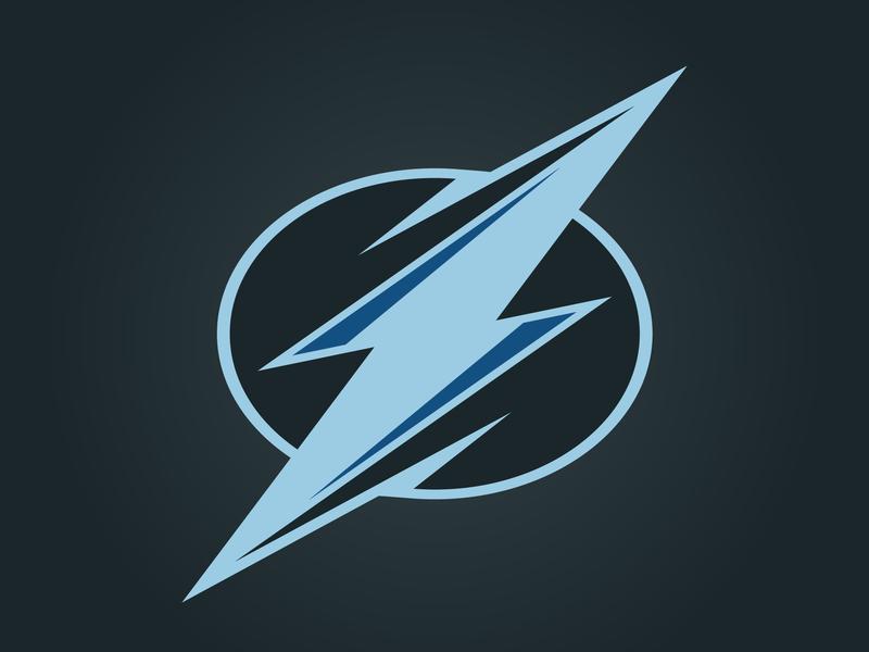 Tampa Bay Lightning logo lightning tampa bay concept nhl
