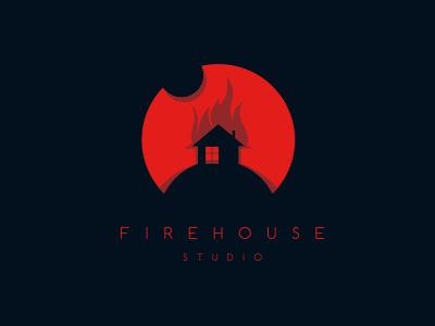 Firehouse Studio illustration studio firehouse logo