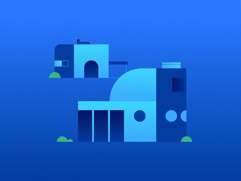 Buildings illustration graphic desgin animation motion graphics motion design