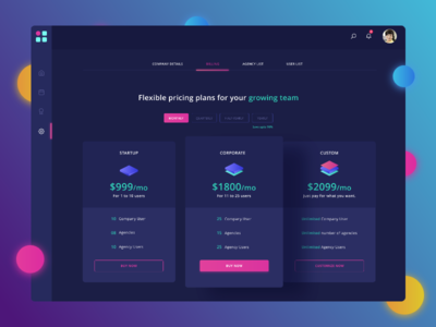 Payment Plan UI