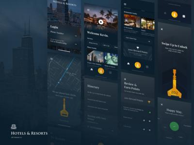 Hotel & Resort App Concept